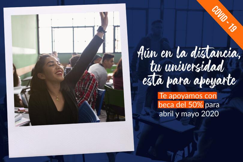 UTC Se Solidariza con sus estudiantes otorgando un descuento del 50% en las colegiaturas de Abril y Mayo