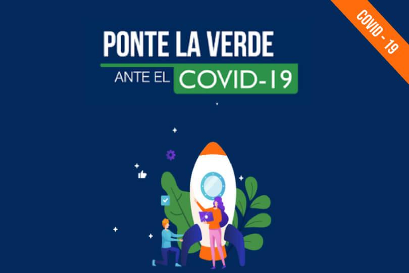 Ponte la verde una iniciativa de empresas e instituciones educativas frente al COVID-19