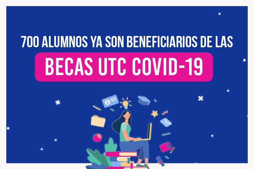 Programa de Becas UTC-COVID da apoyo a 700 estudiantes