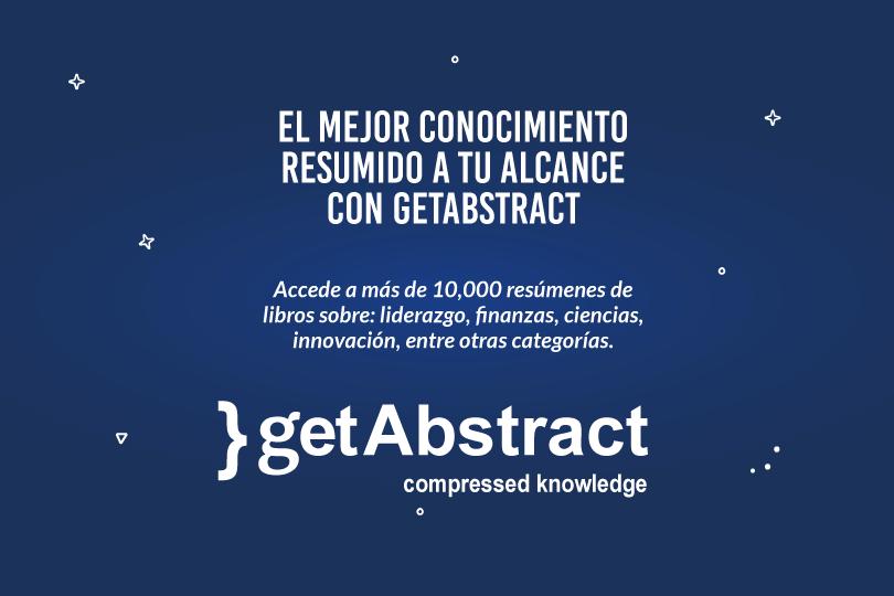getAbstract, la mayor fuente de conocimiento comprimido del mundo llega a UTC.