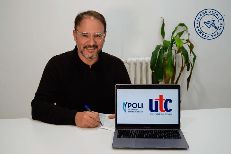 La Universidad Tres Culturas y el Politécnico Grancolombiano promoverán el intercambio académico y los planes de estudios conjuntos