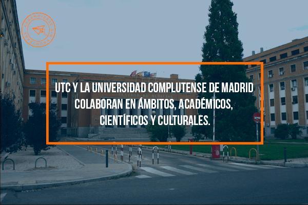 UTC Sin Fronteras te acerca a la Universidad Complutense de Madrid, una de las mejores de Europa.